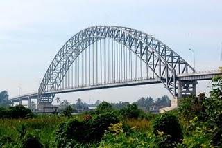 Jembatan Rumpiang, kab. Barito Kuala, Kalimantan Selatan