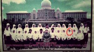 fotoku saat SMP